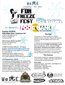 Freeze Fest Flyer 2014